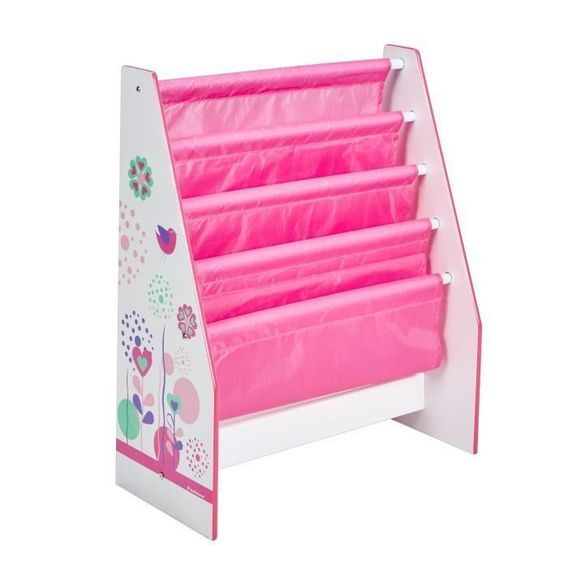 Bibliotheque Enfant Rose Fille HelloHome - Worlds Apart - Photo n°2
