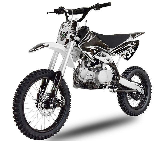 Dirt bike 140cc Drizzle 17/14 manuel 4 temps noir - Photo n°2