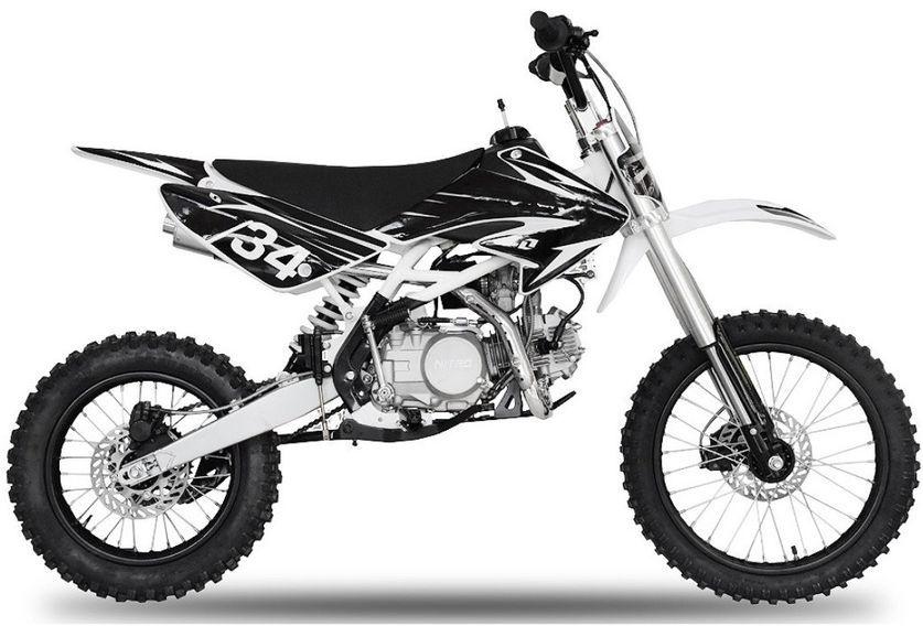 Dirt bike 140cc Drizzle 17/14 manuel 4 temps noir - Photo n°1
