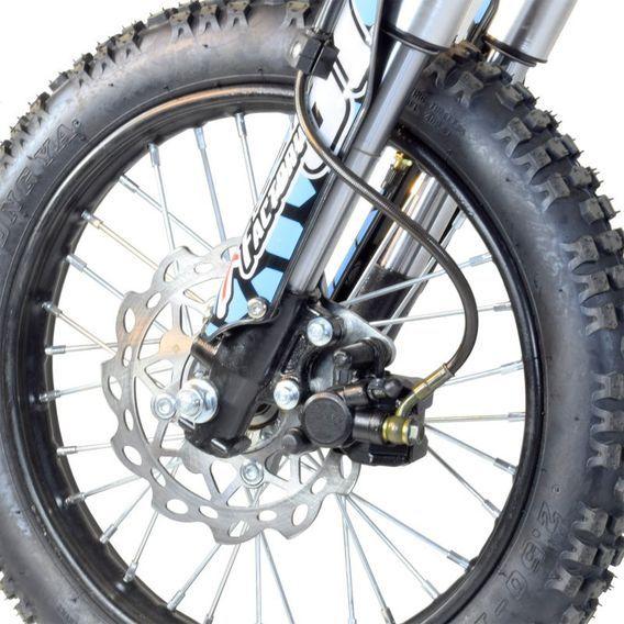 Dirt bike 140cc Drizzle 17/14 manuel 4 temps noir - Photo n°12