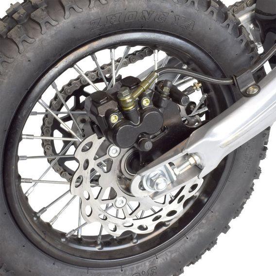 Dirt bike 140cc Drizzle 17/14 manuel 4 temps noir - Photo n°13