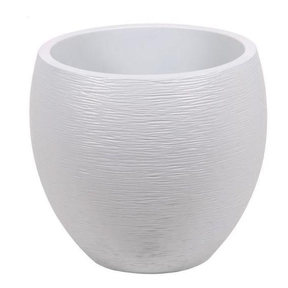 EDA Pot rond Graphit Ø50cm - Contenance 46L - Blanc cérusé - Photo n°1