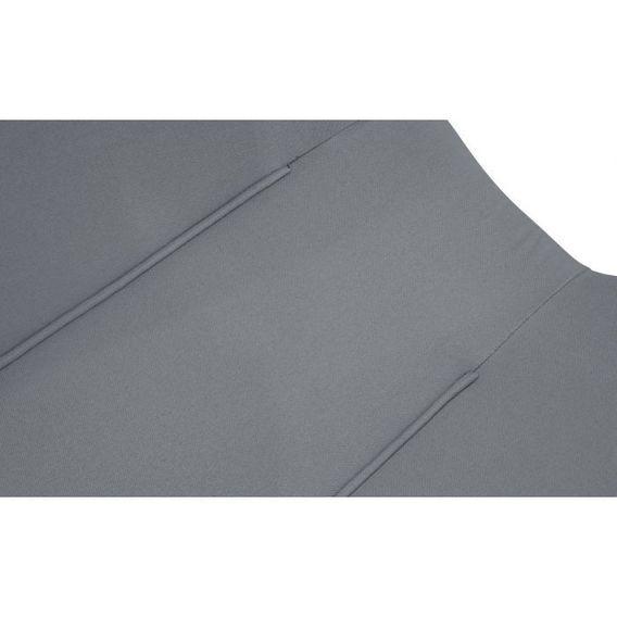 Fauteuil scandinave tissu gris clair et pieds bois clair Ulric - Photo n°5