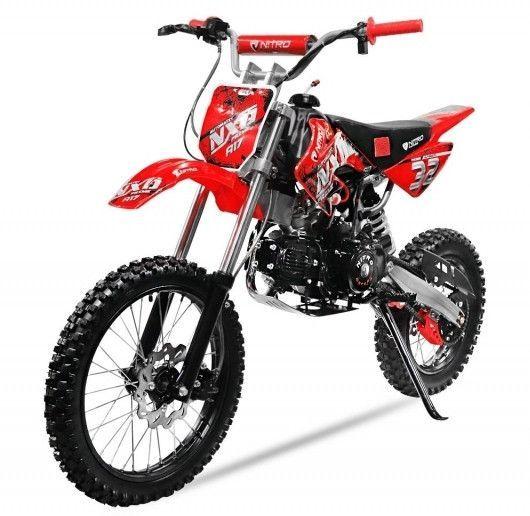 Moto cross 125cc automatique 17/14 rouge Sprinter - Photo n°3