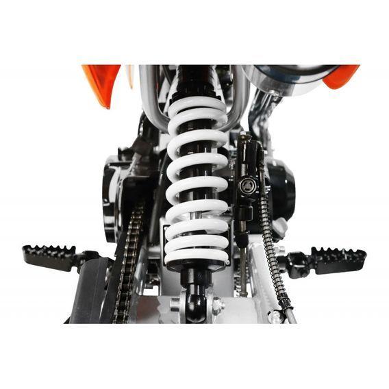 Moto cross 125cc automatique 17/14 rouge Sprinter - Photo n°8