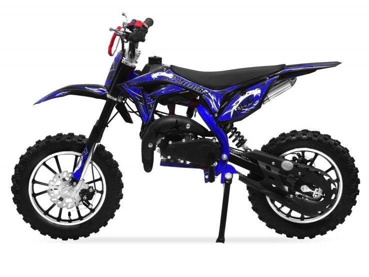 Moto cross 49cc Panthera 10/10 automatique bleu - Photo n°1