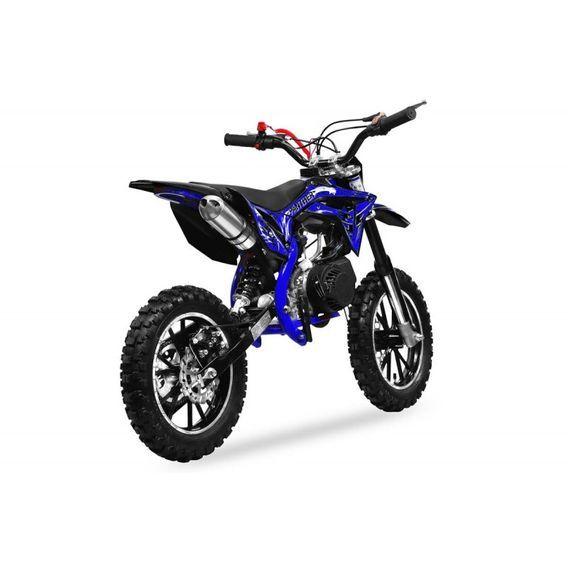 Moto cross 49cc Panthera 10/10 automatique bleu - Photo n°4