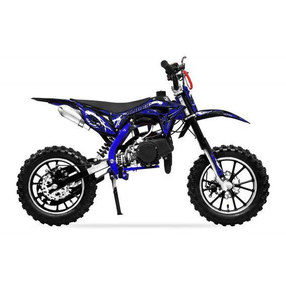 Moto cross 49cc Panthera 10/10 automatique bleu - Photo n°5