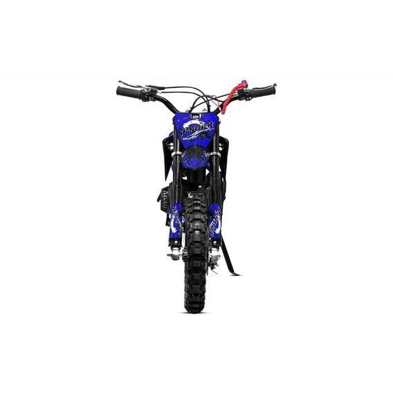 Moto cross 49cc Panthera 10/10 automatique bleu - Photo n°6
