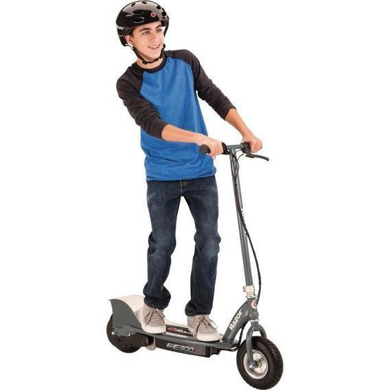 RAZOR Trottinette enfant électrique RAZOR E300 Gris Mat 24km/h - Photo n°1