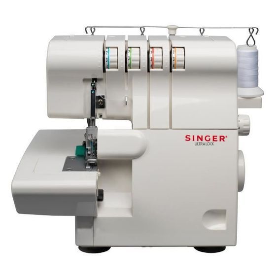 SINGER Surjeteuse - 14SH644 - 1300 points/min - Blanc - Photo n°1