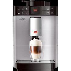 ABSAAR F58/0-100 - Machine a café automatique avec buse vapeur capuccino-15 bar-10 boissons différentes-Ecran HD-Acier inoxydable