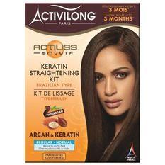 ACTIVILONG Kit de lissage Actiliss Smooth - Type brésilien - Argan et kératine