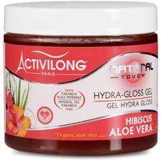 Activilong Natural Touch Gel Hydra Gloss Effet Mouillé Hibiscus Aloe Vera 200 ml