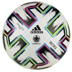 ADIDAS Ballon de foot adidas Euro 2020 Uniforia Training Blanc - FU1549 - Noir - Rose