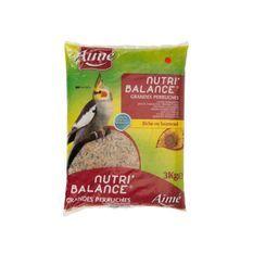 AIME Nutri'balance Mélange de graines - Pour grandes perruches - 3kg