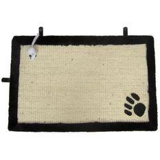 AIME Tapis griffoir avec jouet suspendu - 35 x 55 cm - Pour chat