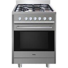 AMICA ACMP2005SX Cuisiniere Mixte 60X60 Cm Sur Pieds Inox