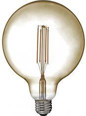 Ampoule LED rétro Edison Globe 12.5cm filament 6,5W E27
