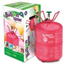 AMSCAN Bombonne hélium compacte pour gonflé 30 Ballons 0,25m3/8,4l/ 45 bar
