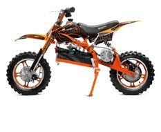 Moto cross enfant 1000W orange 10/10 pouces Speedo