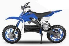 Moto cross enfant 800W bleu 10/10 pouces Speedo