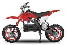 Moto cross enfant 800W rouge 10/10 pouces Speedo