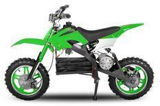 Moto cross enfant 800W vert 10/10 pouces Speedo