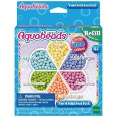 AQUABEADS Recharge Perles Pastel