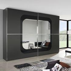 Armoire design Noir Cubike