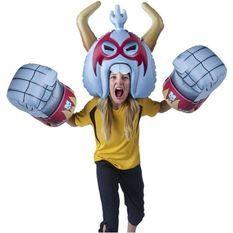 Armure Massive Monster Mayhem Gonflable - Casque & Poings - Modele RoBro - EU666121