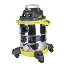 Aspirateur eau et poussiŠre 20L filaire Ryobi RVC-1220I-G - 1250 W - cuve inox - 17Kpa - vidange de cuve