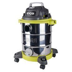 Aspirateur eau et poussiŠre 30L filaire Ryobi RVC-1220I-G - 1400 W - cuve inox - 21Kpa - vidange de cuve - prise d'asservissement