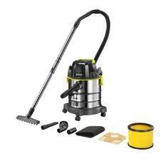 Aspirateur eau et poussiere sans fil RYOBI - R18WDV-0 - Cuve inox - 18L (sans batterie ni chargeur)