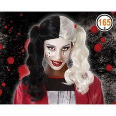 ATOSA 64626 Perruque Halloween Blonde Brun - Vilaine Bande Dessinée
