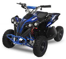 Avenger Deluxe 1200W 48V bleu quad enfant électrique