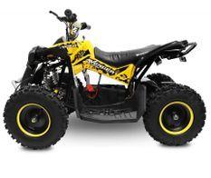 Avenger Deluxe 1200W 48V jaune quad enfant électrique