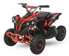 Avenger Deluxe 1200W 48V rouge quad enfant électrique