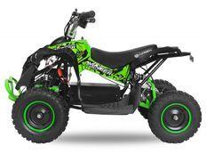 Avenger Deluxe 1200W 48V vert quad enfant électrique