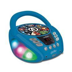 AVENGERS - Lecteur CD Bluetooth - Effets Lumineux