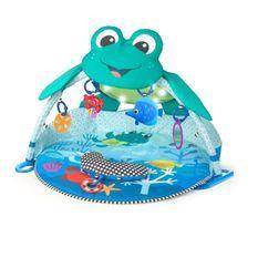 BABY EINSTEIN Tapis d'éveil Neptune Under the Sea Lights & Sounds™ Activity Gym