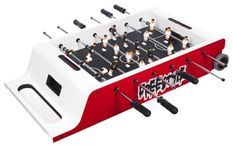 Baby foot et Air Hockey Freestyle rouge
