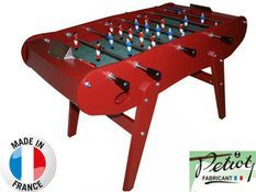 Baby foot Petiot Concorde Family rouge