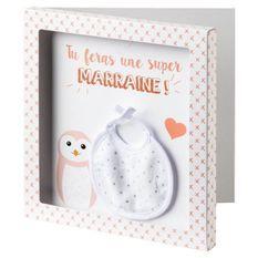 BABYCALIN Carte surprise + Enveloppe Marraine