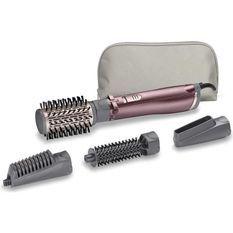 BaByliss AS960E - Brosse soufflante Beliss Big Hair 1000 - 1000W - 2 températures - Fonction ionique - 4 accessoires