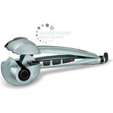 BABYLISS C1800E Fer a boucler Curl Secret Steam Shine - 3 températures - Systeme d'émission de vapeur Hydrotherm™ - 3 temps de pose