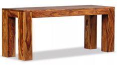Banc bois massif sesham Boken 110 cm