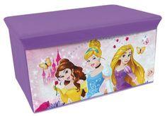 Banc de rangement pliable Princesses Disney