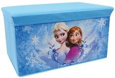 Banc de rangement pliable Reine des neiges Disney