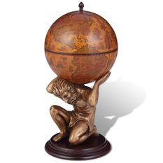 Bar sous forme de globe Atlas 42 x 42 x 85 cm